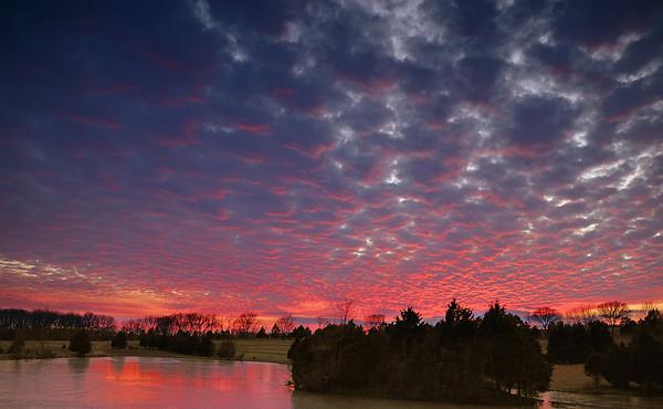 Missouri Red Sky September 15, 2008